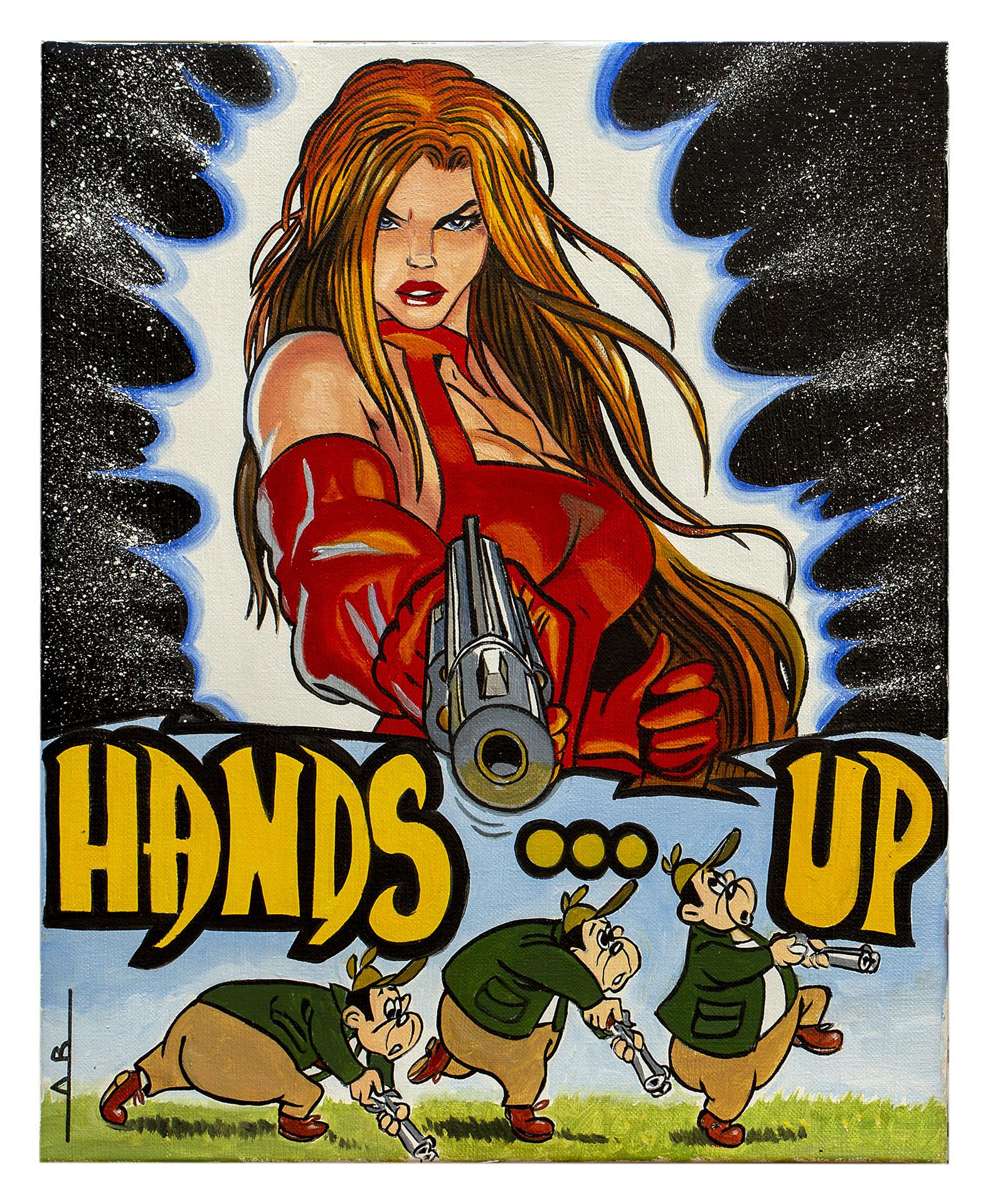 HANDS UP 41X33