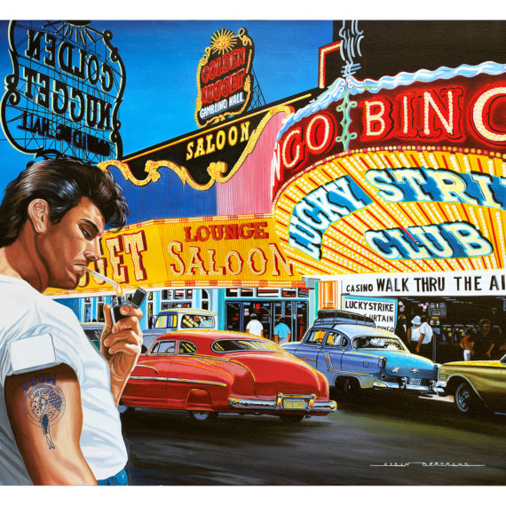ON LAS VEGAS STRIP 116X89