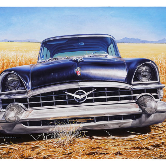 PACKARD IN THE FIELD 116X89
