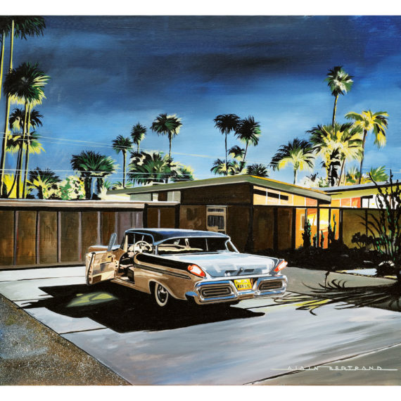 PALM SPRING NIGHT 73X60