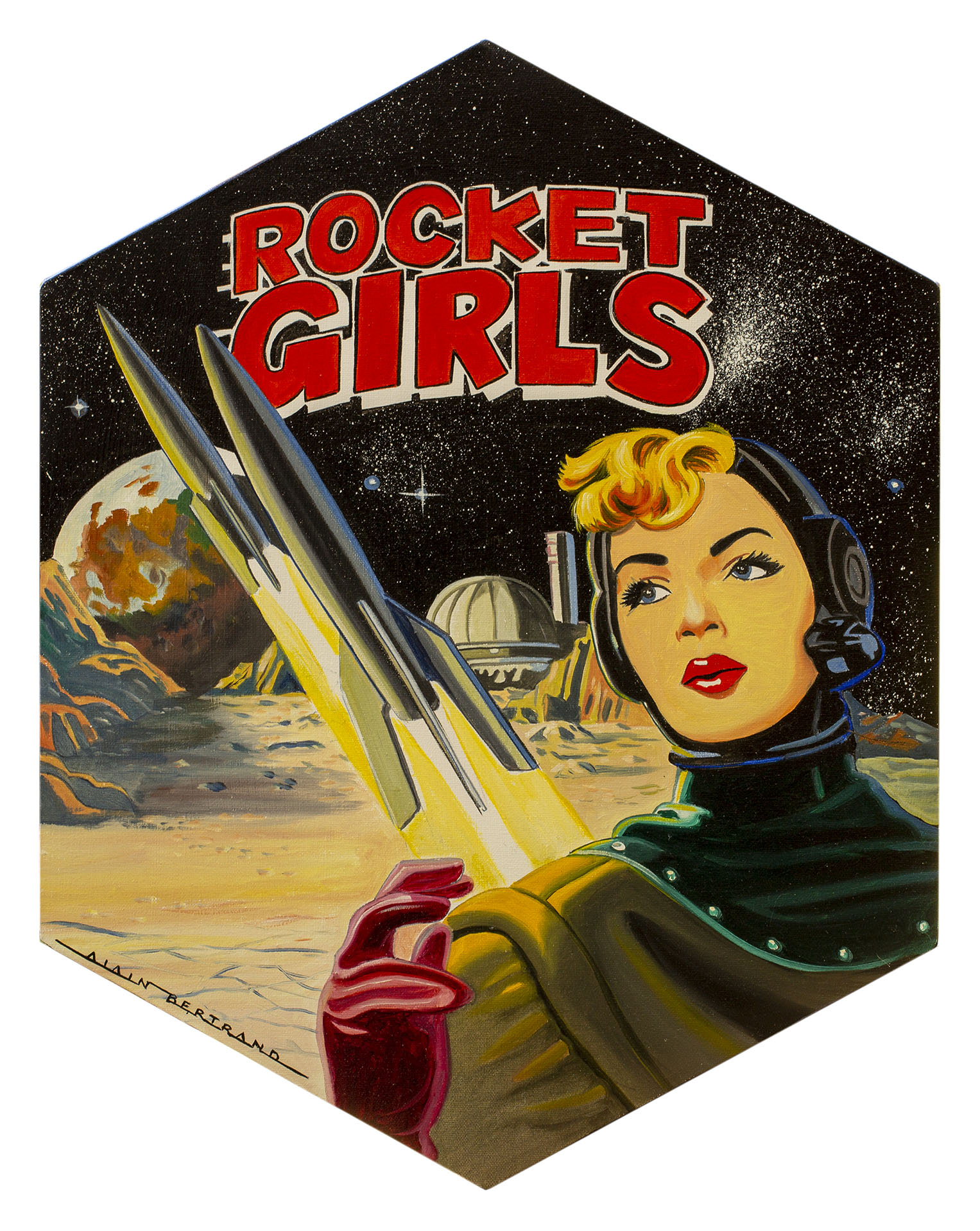 ROCKET GIRLS 60X45