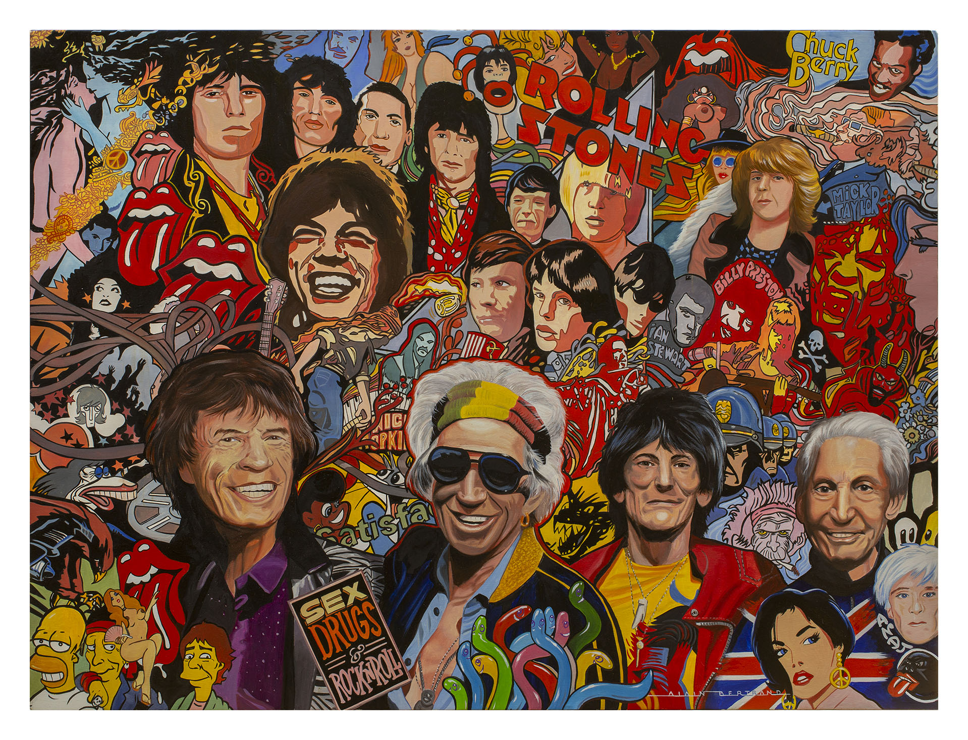 ROLLING STONES STORY 130x97