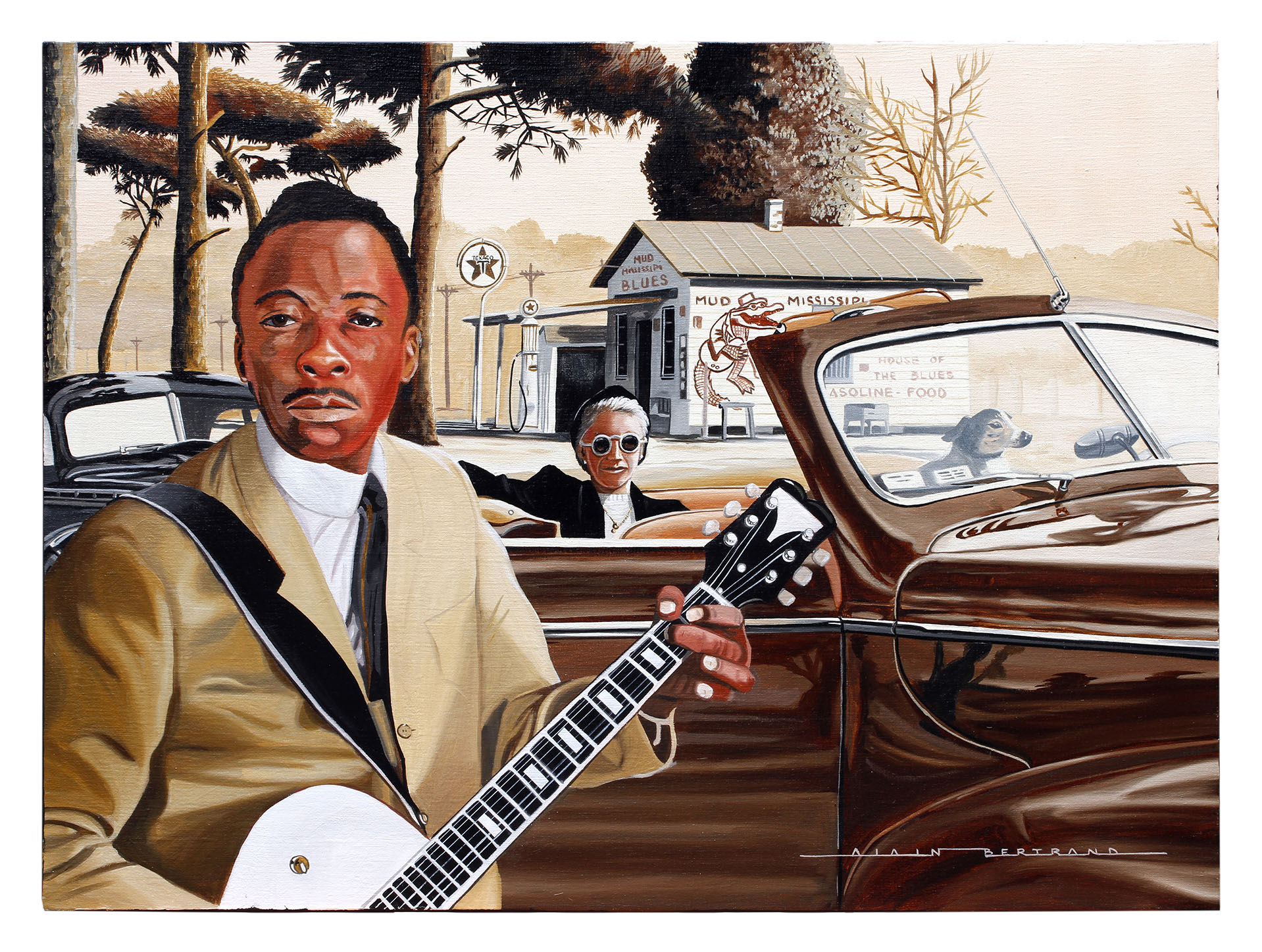 COUNTRY BLUES 81X65