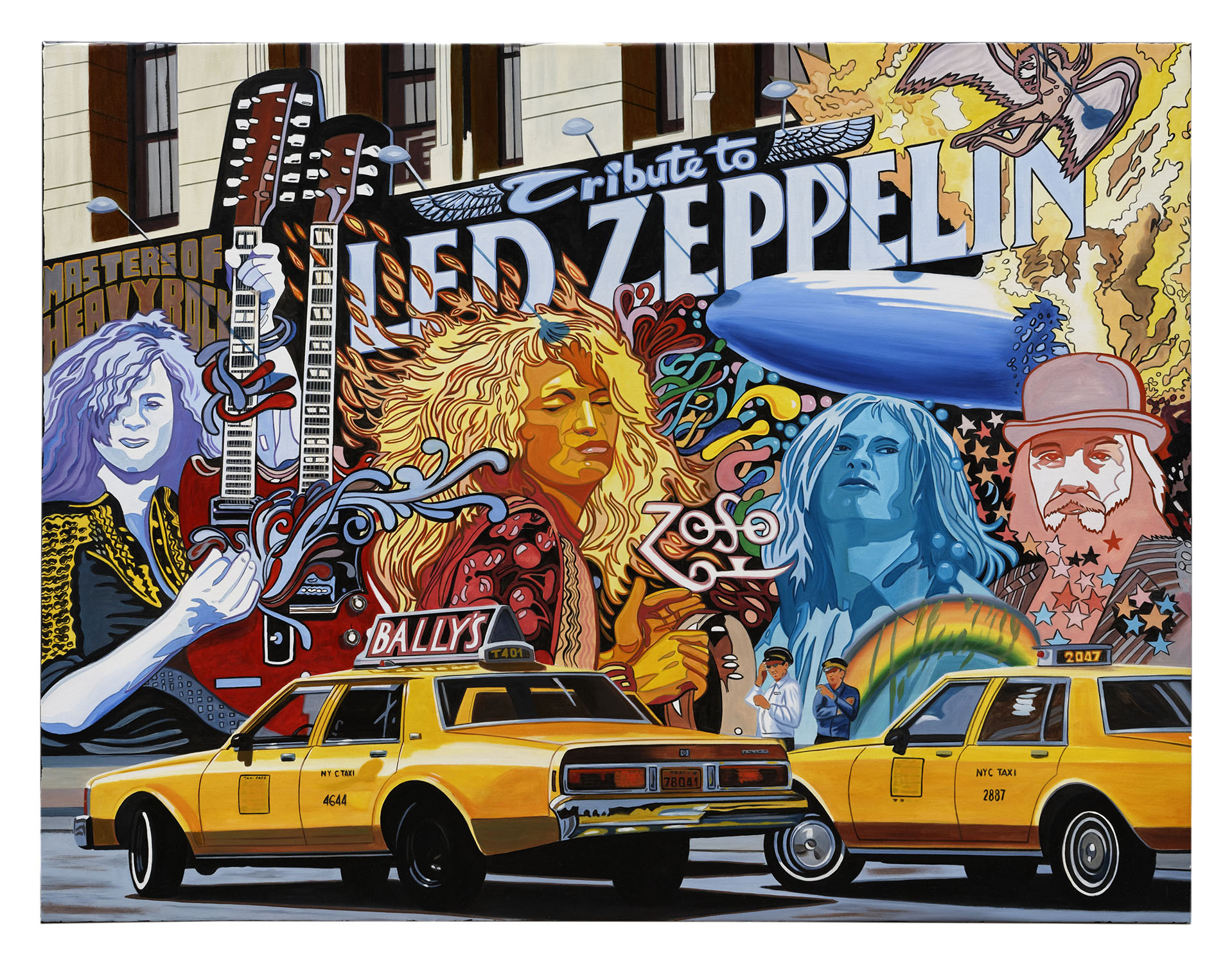 LED ZEPPELIN 116X89