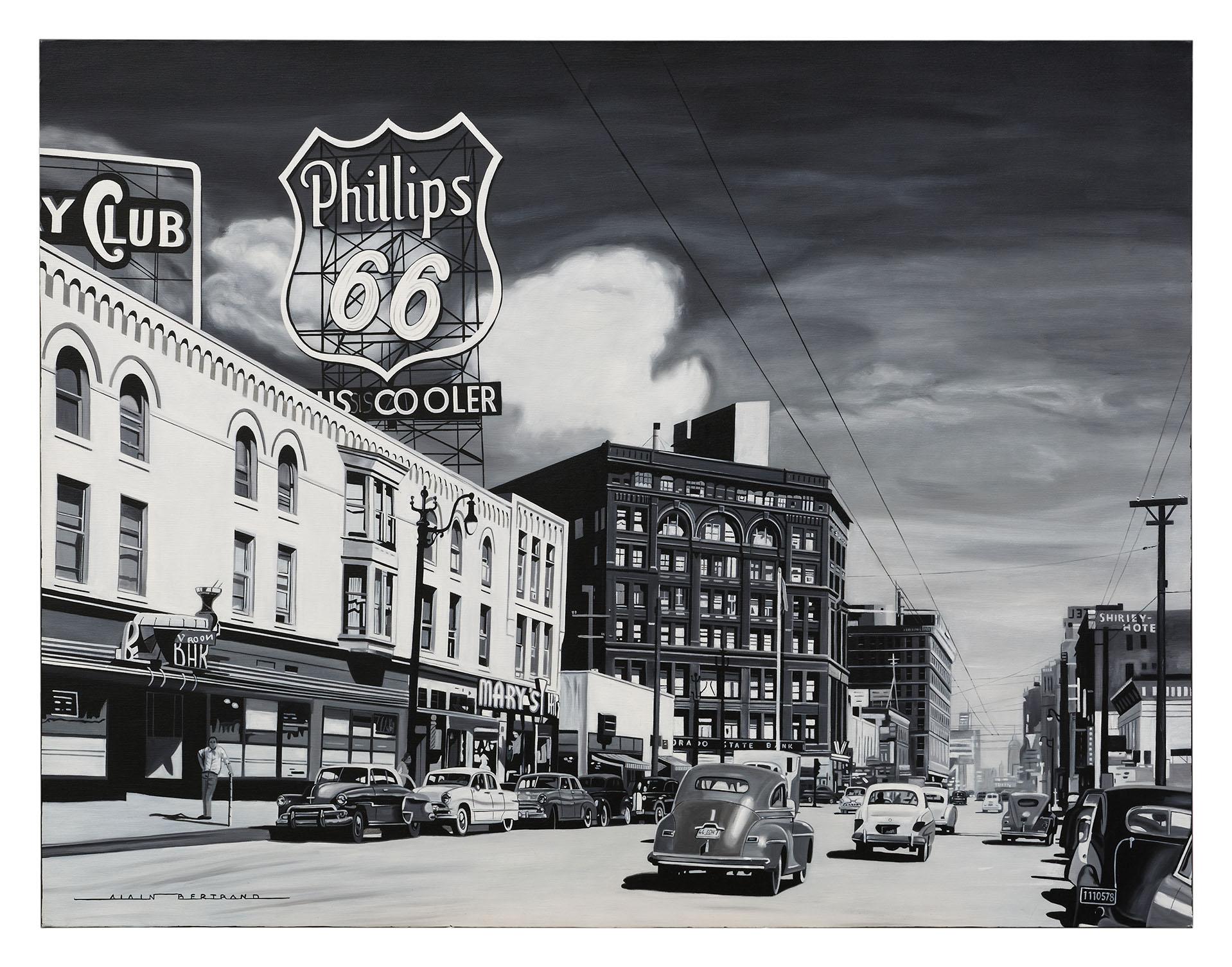 PHILLIP'S 66 116X89