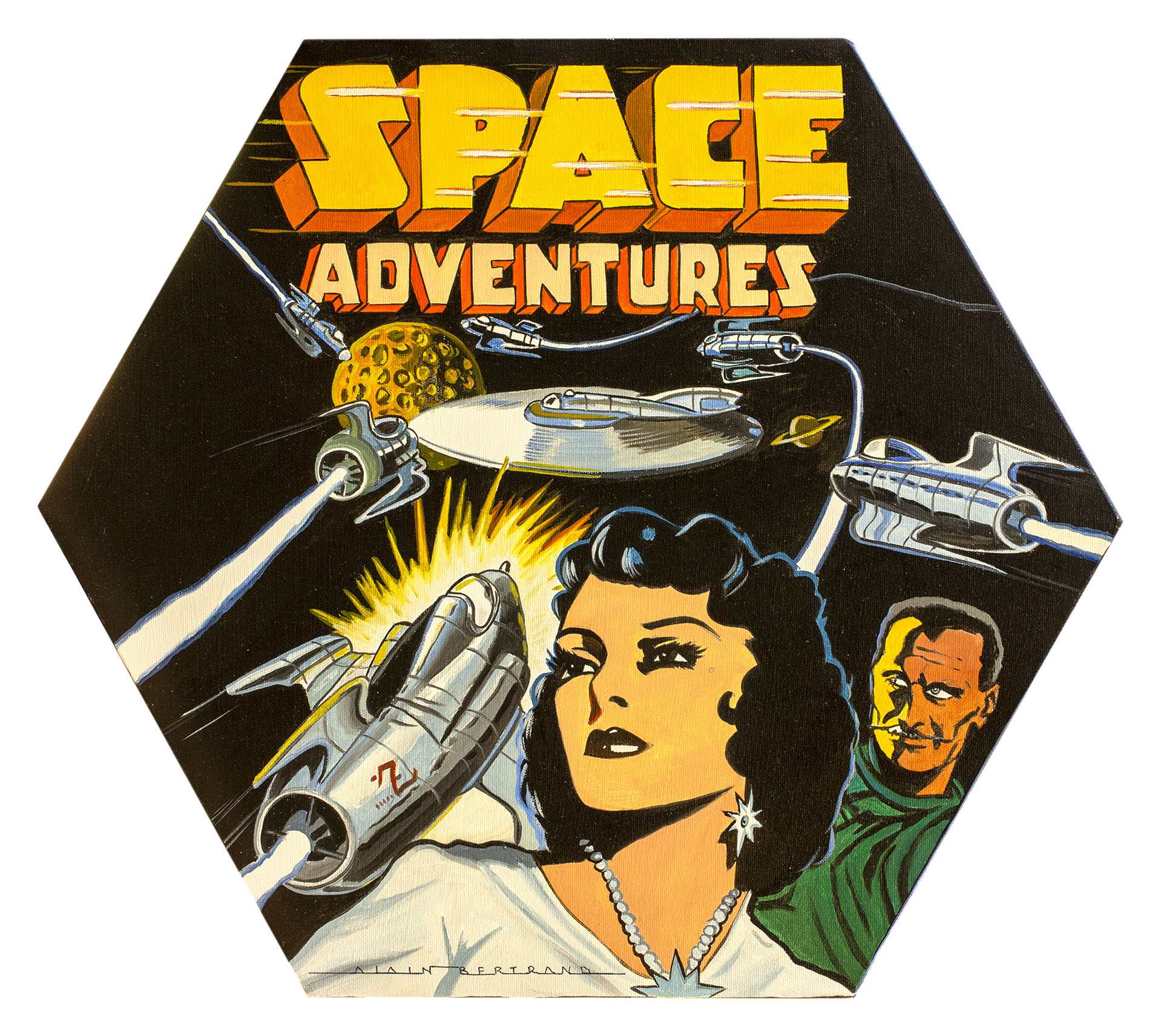 SPACE ADVENTURES 50X43
