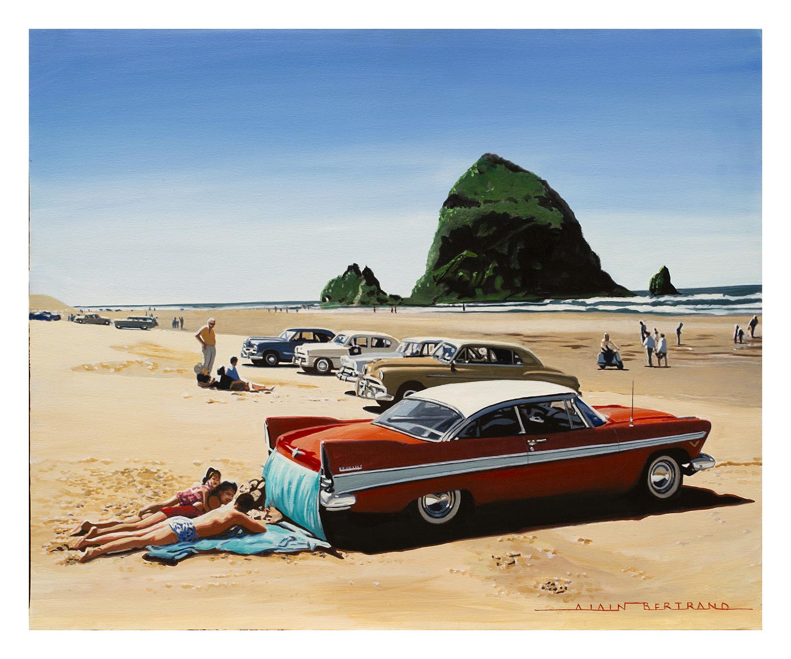 ON THE BEACH 73X60